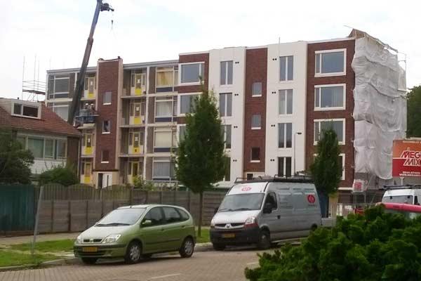 Transformatie 4 portiekflats Presikhaaf te Arnhem