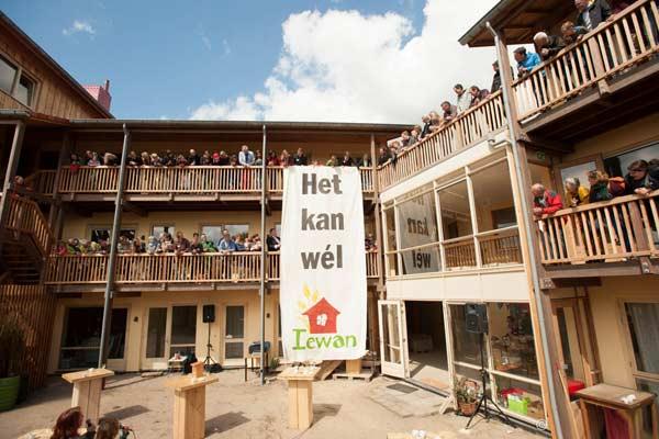 Ecologisch nieuwbouwproject IEWAN te Lent (Nijmegen)